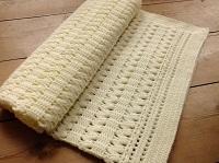 Manta crochet imagen 2